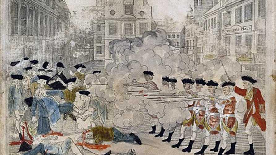 وصف لمجزرة بوسطن