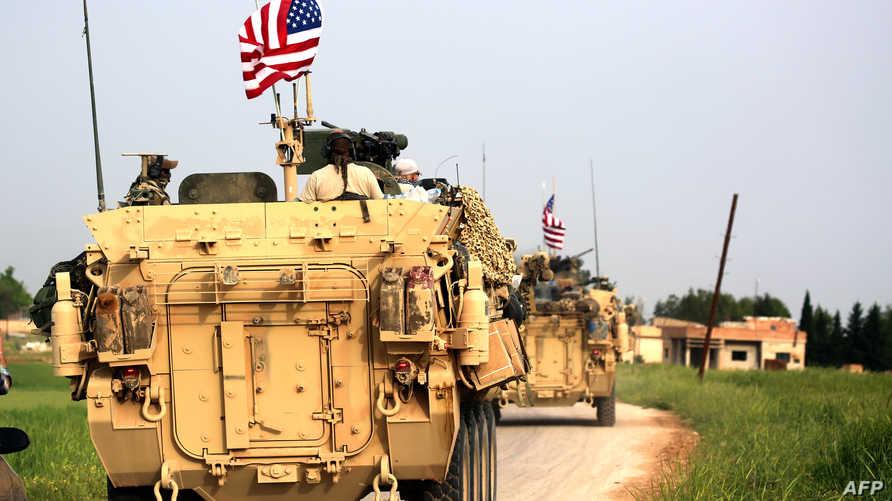 قوات أميركية تصاحب وحدات حماية الشعب الكردي بسورية