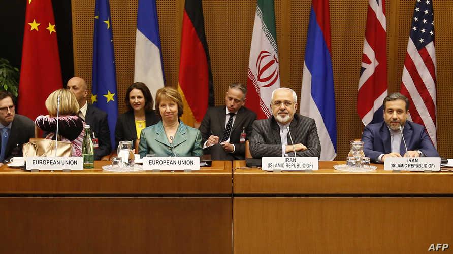 المفاوضات الإيرانية مع المجموعة الدولية في فيينا
