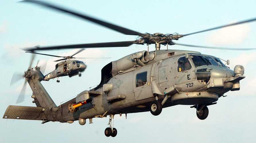 طوافة أميركية الصنع من طراز سيهوك MH-60R