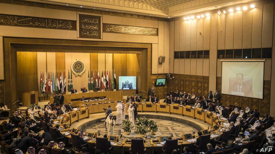 جانب من اجتماع وزراء الخارجية العرب في القاهرة