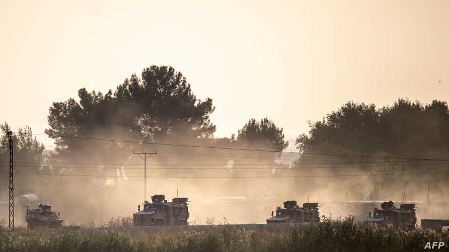 الجيش التركي يواصل توغله شمال سوريا