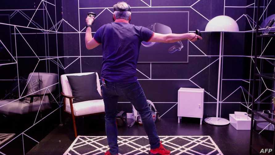 نظارة Oculus Quest لألعاب الواقع الافتراضي