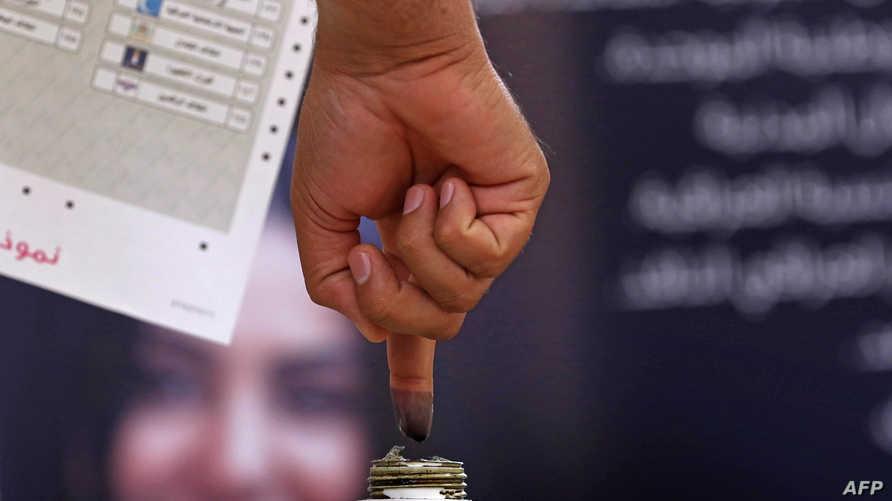 خلال الانتخابات التجريبية في نهاية نيسان/أبريل، تحضيرا للانتخابات العامة
