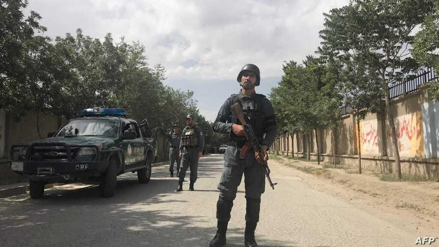 عنصر في الشرطة الأفغانية