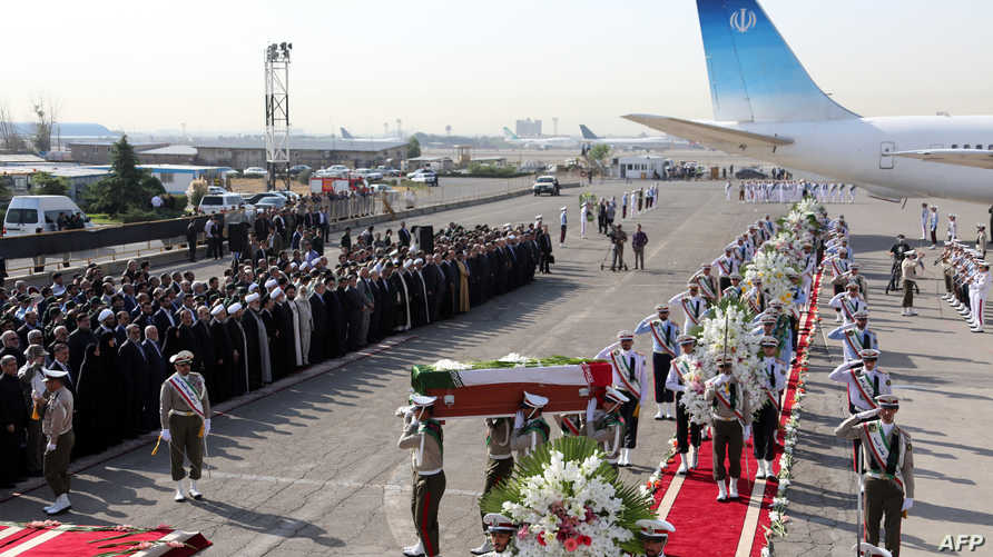 وصول جثامين الحجاج الإيرانيين