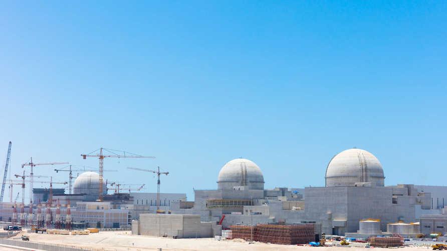 موقع محطة براكة النووية في الإمارات
