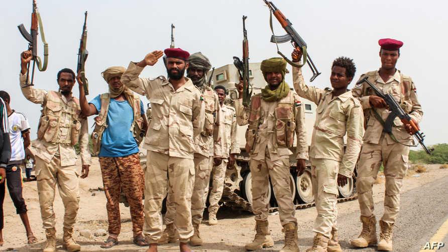 قوات سودانية في اليمن
