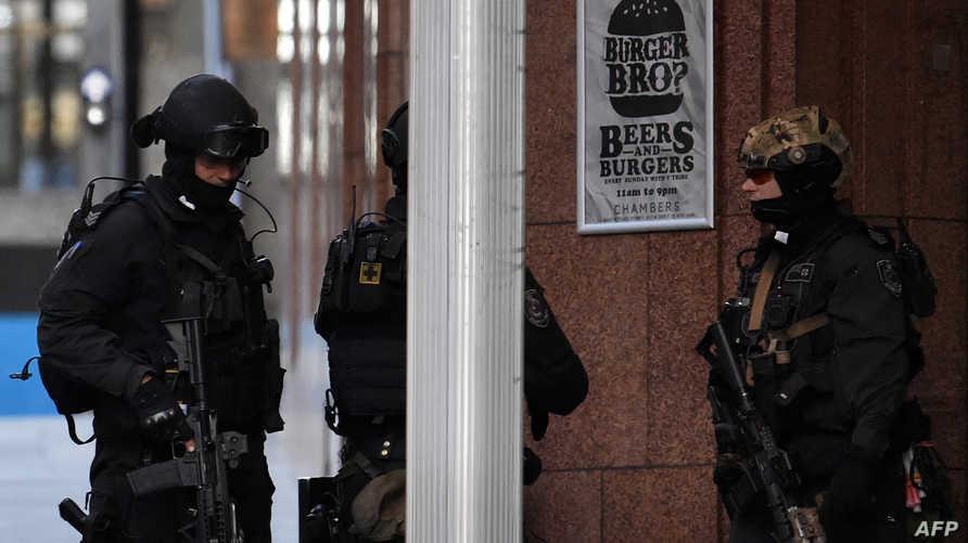 الشرطة الأسترالية في موقع هجوم في سيدني- أرشيف