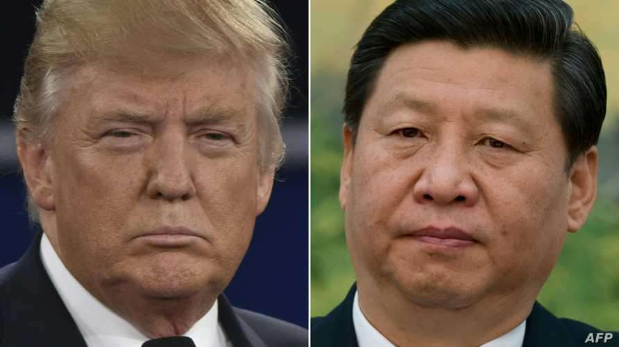 الرئيس الأميركي دونالد ترامب ونظيره الصيني شي جينبينغ