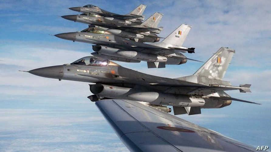 مقاتلات التحالف الدولي في سماء العراق- أرشيف