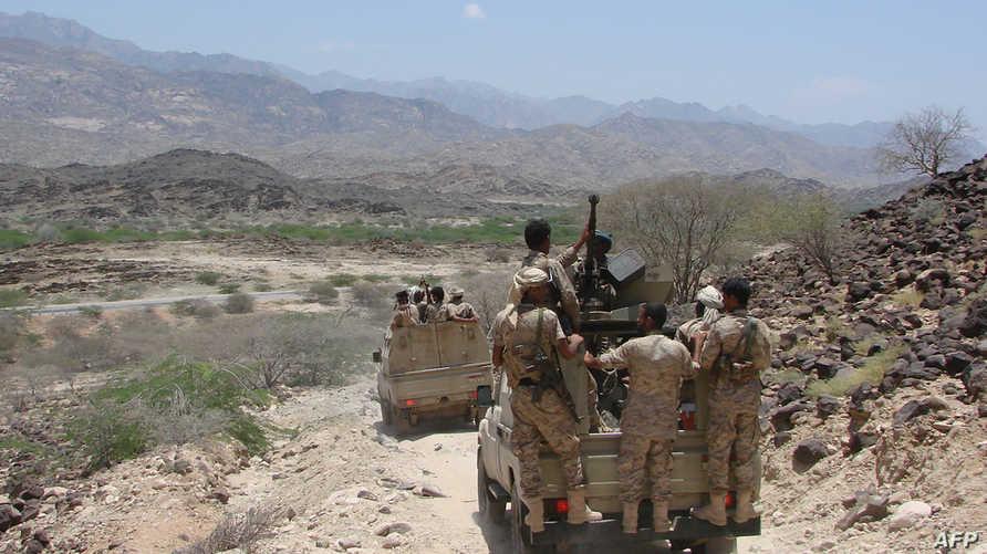 جنود يمينون في أبين-أرشيف