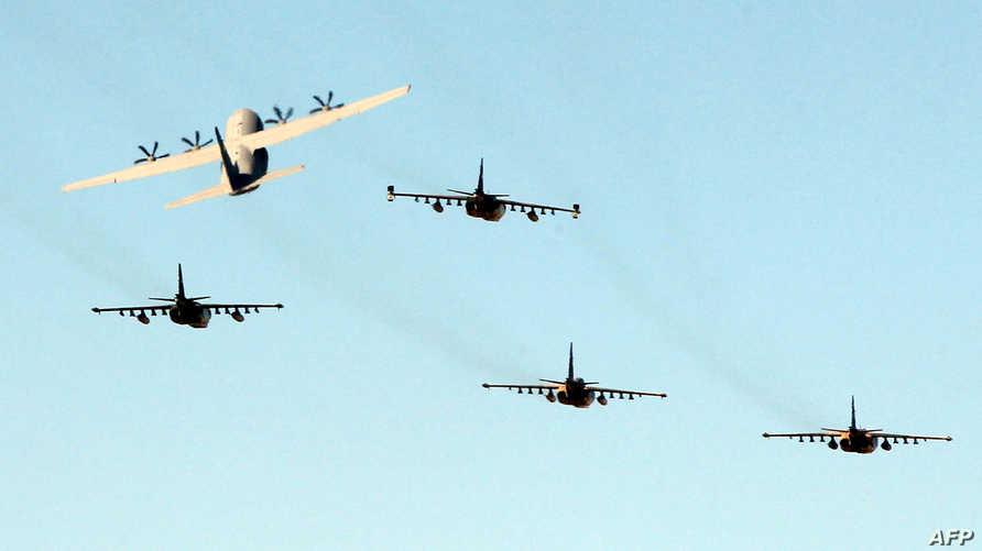 طائرات عسكرية عراقية