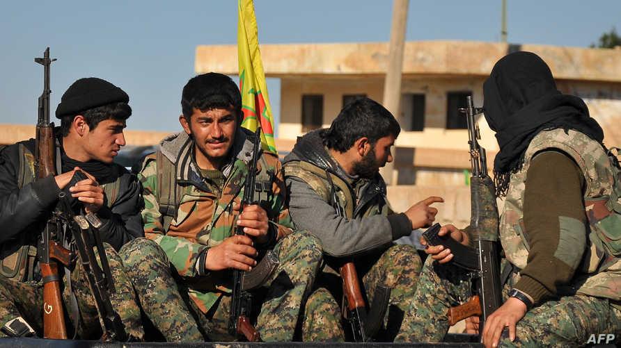 مقاتلون أكراد في سورية -أرشيف