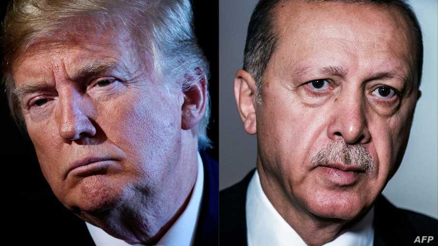 ترامب وأردوغان - صورة مركبة