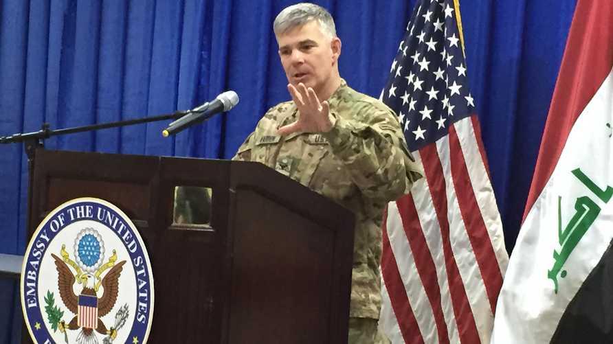 المتحدث باسم التحالف الدولي ضد تنظيم الدولة الإسلامية داعش ستيف وارن