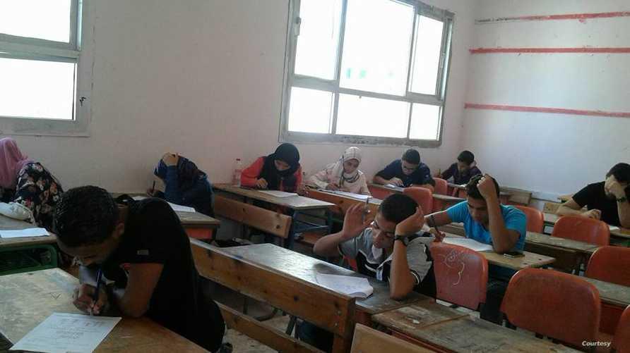 طلاب مصريون - أرشيف