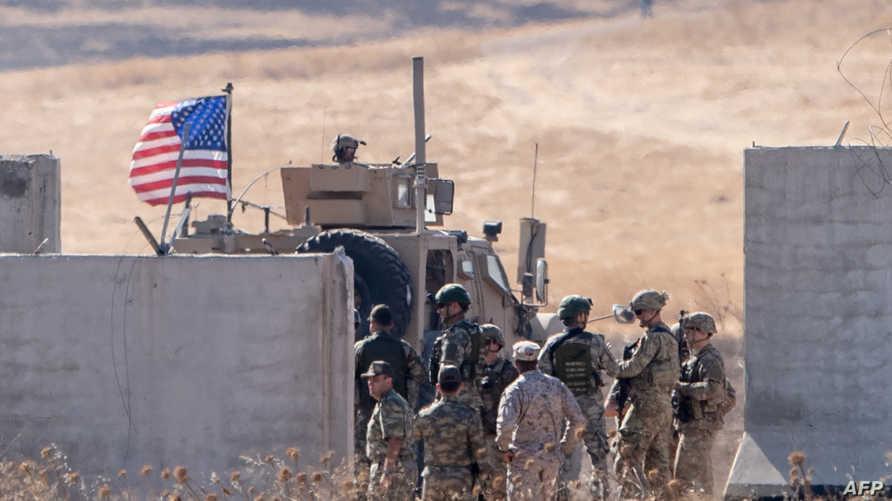 قوات أميركية شمالي سوريا - أرشيف