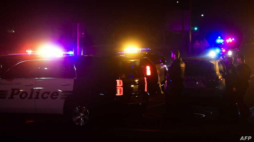 سيارة شرطة أميركية عند أحد التقاطعات