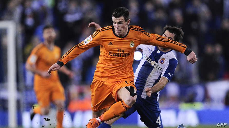 غاريث بايل لاعب وسط ريال مدريد