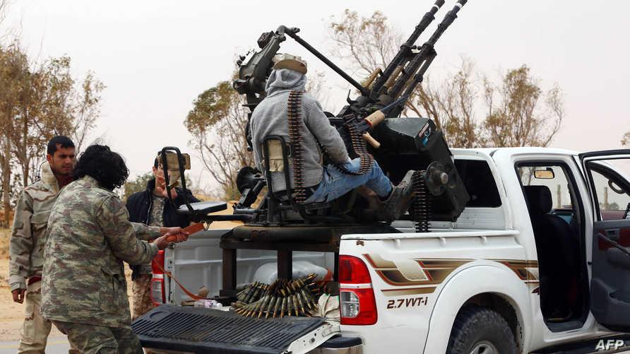قوات ليبية تستعد لمهاجمة داعش في سرت