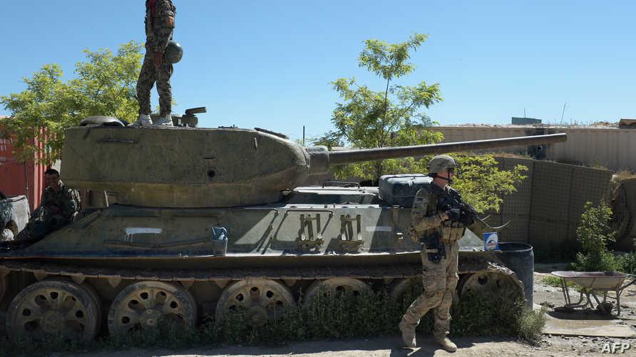 جندي من الجيش الأميركي في أفغانستان