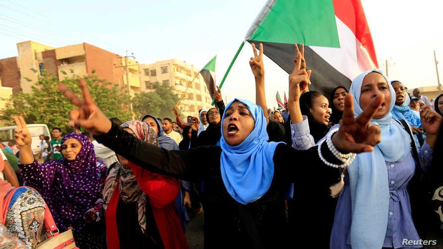 التظاهرات في السودان مستمرة
