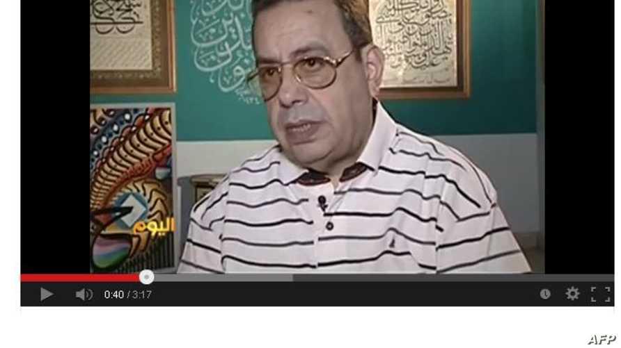 خضير البورسعيدي نقيب الخطاطين المصريين