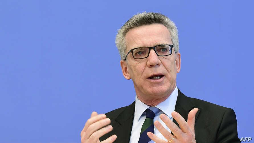 وزير الداخلية الألماني توماس دي مايتسيره