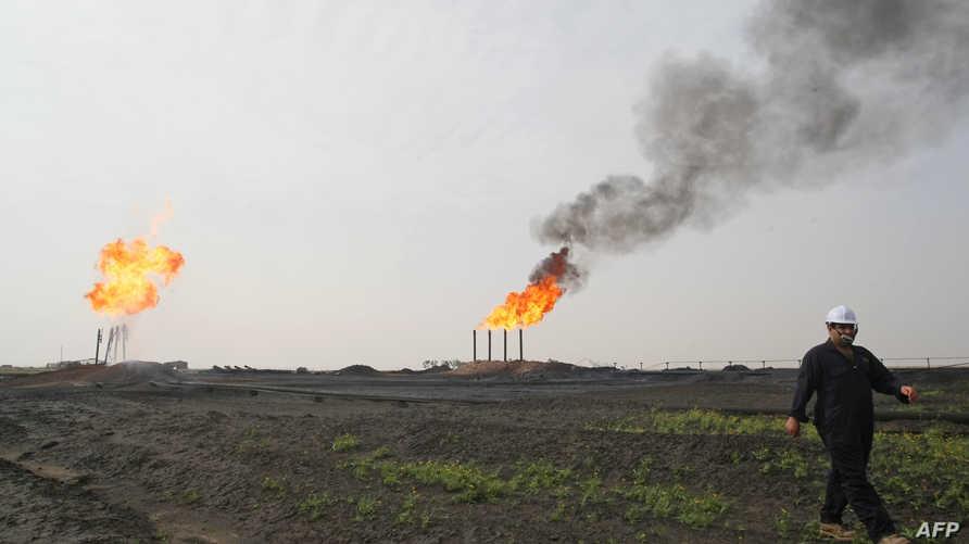 حقول نفط في العراق-أرشيف