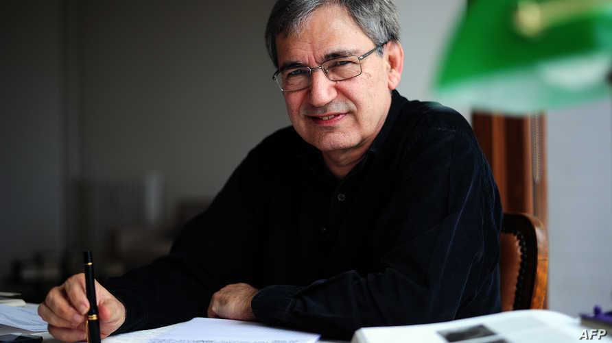الكاتب التركي اورهان باموك