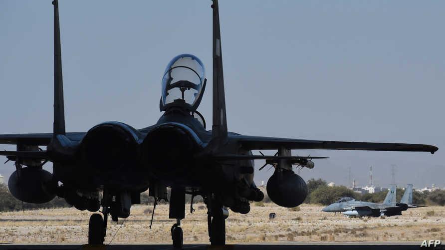 مقاتلات سعودية من طراز F-15