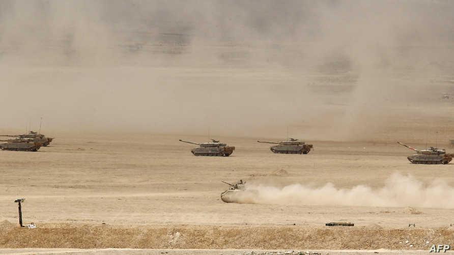 دبابات للجيش الأردني