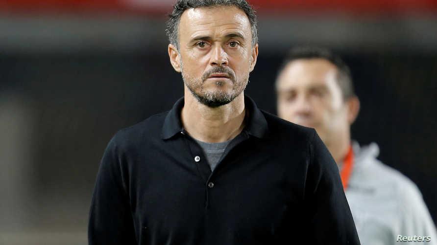 مدرب المنتخب الإسباني لويس إنريكي يعود لمنصبه