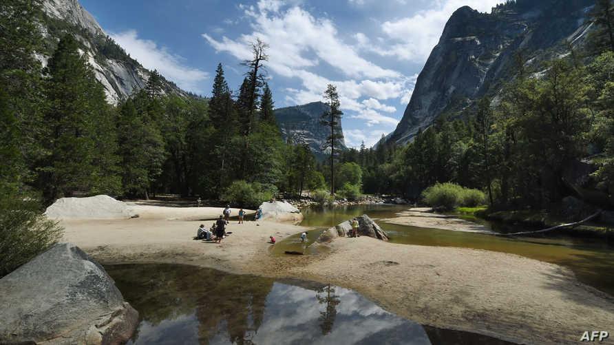 جانب من محمية يوسيميتي الوطنية في كاليفورنيا