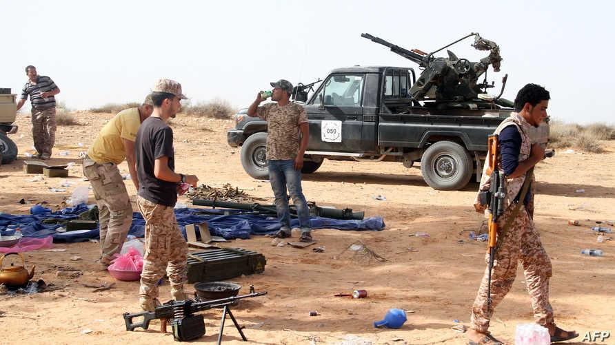 مقاتلون من ميليشيات فجر ليبيا