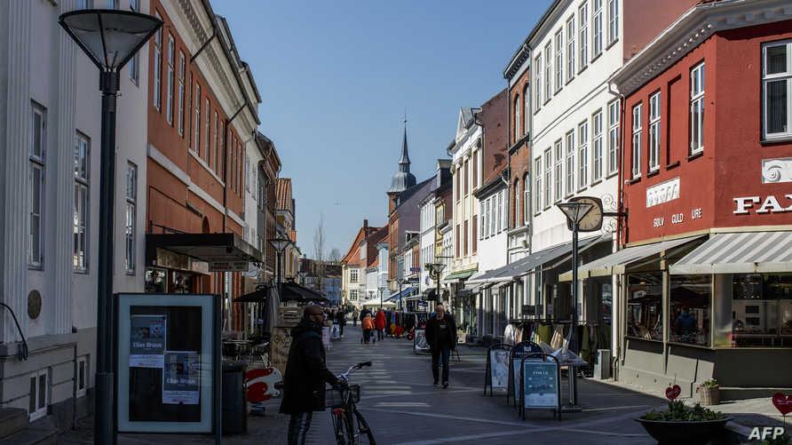 مدينة نيبورغ في الدنمارك