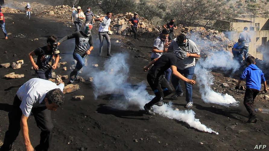 مواجهات سابقة بين فلسطينيين والأمن الإسرائيلي