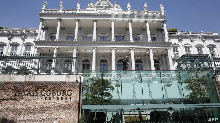 قصر كوبور في فيينا حيث عقدت جولات مفاوضات بين إيران ومجموعة الدول الست