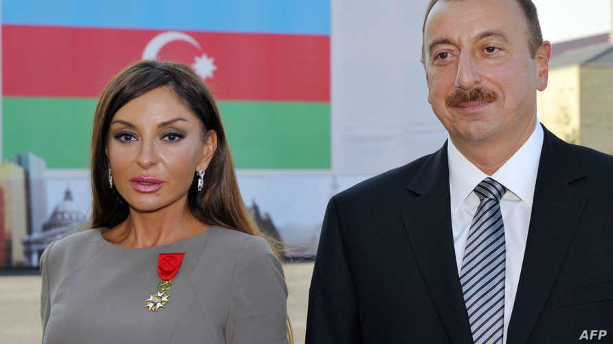الرئيس إلهام علييف وزوجته
