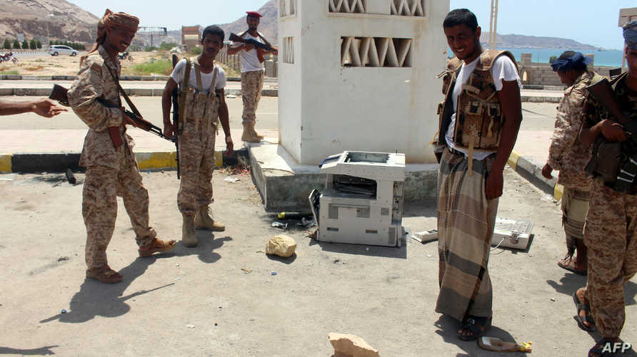 جنود يمنيون في المكلا