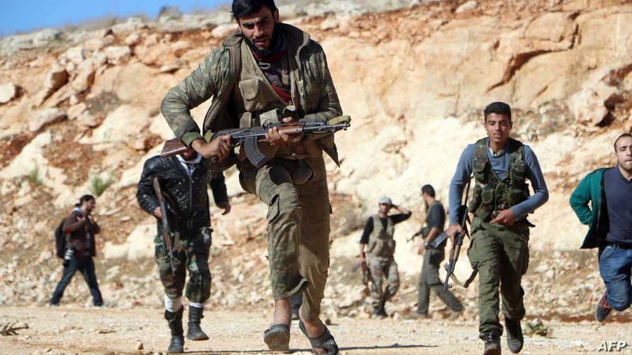 مقاتلون من المعارضة السورية -أرشيف