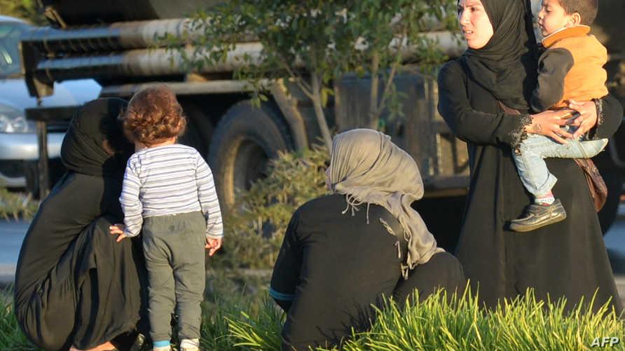 لاجئات سوريات في المغرب