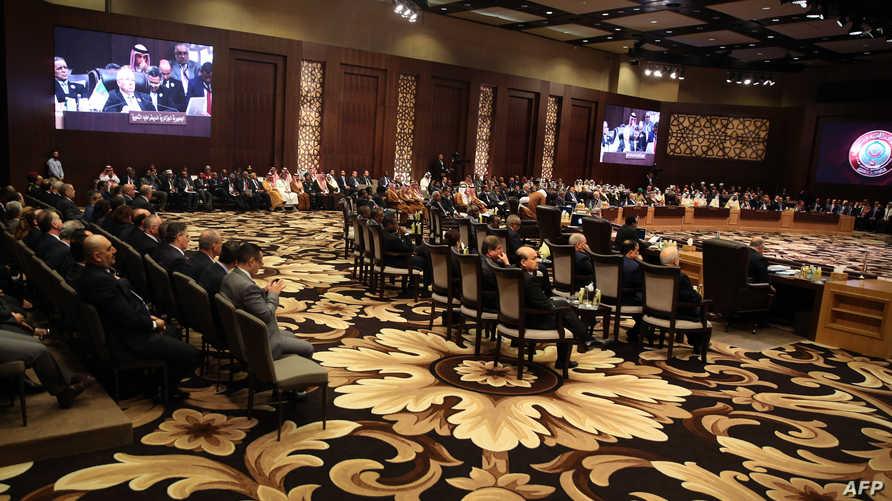 جانب من القمة العربية في الأردن