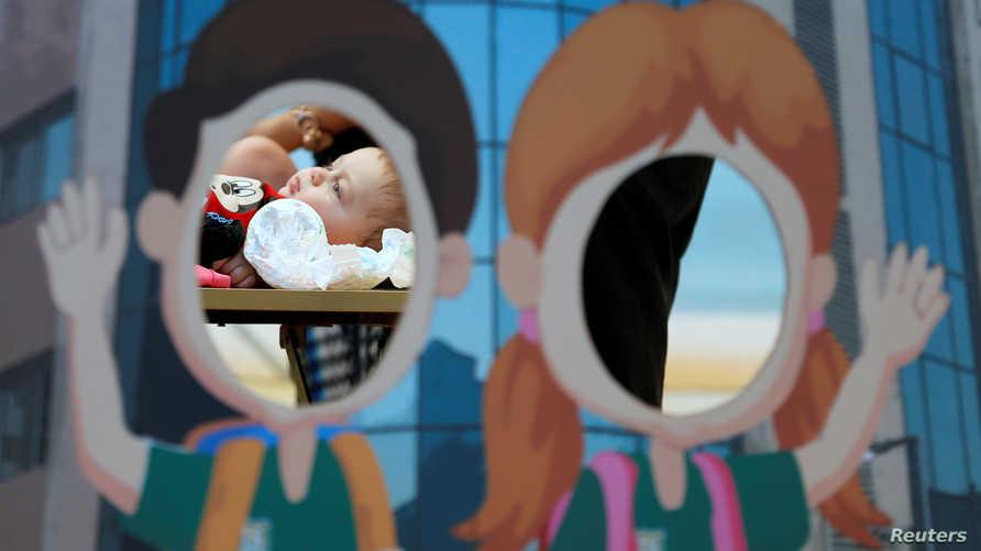 طفل حديث الولادة في مصر