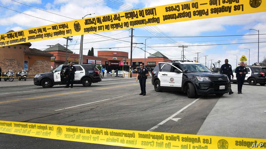 عناصر من شرطة كاليفورنيا - أرشيف