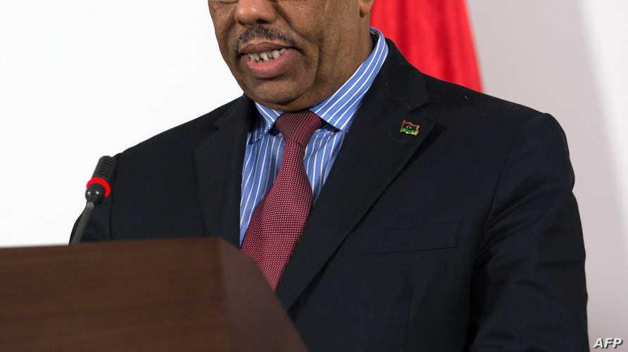 رئيس الوزراء الليبي المكلف عبد الله الثني- أرشيف