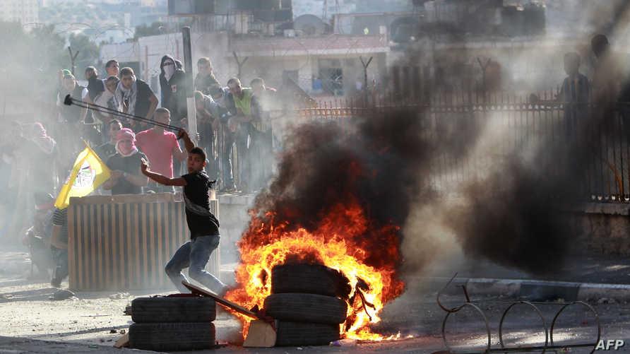 مواجهات بين فلسطينيين والأمن الإسرائيلي