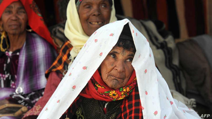 سكان بدو في منطقة دوز جنوب تونس-أرشيف
