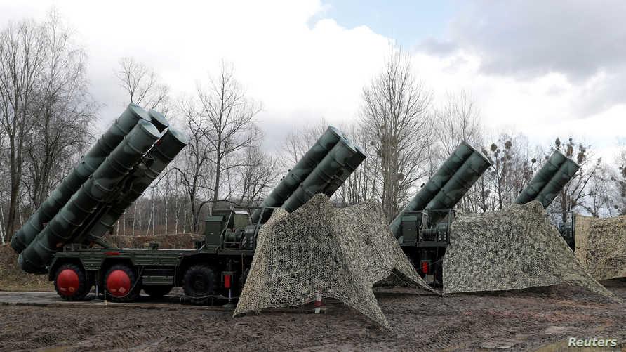 منظومة الدفاع الصاروخي الروسية إس-400